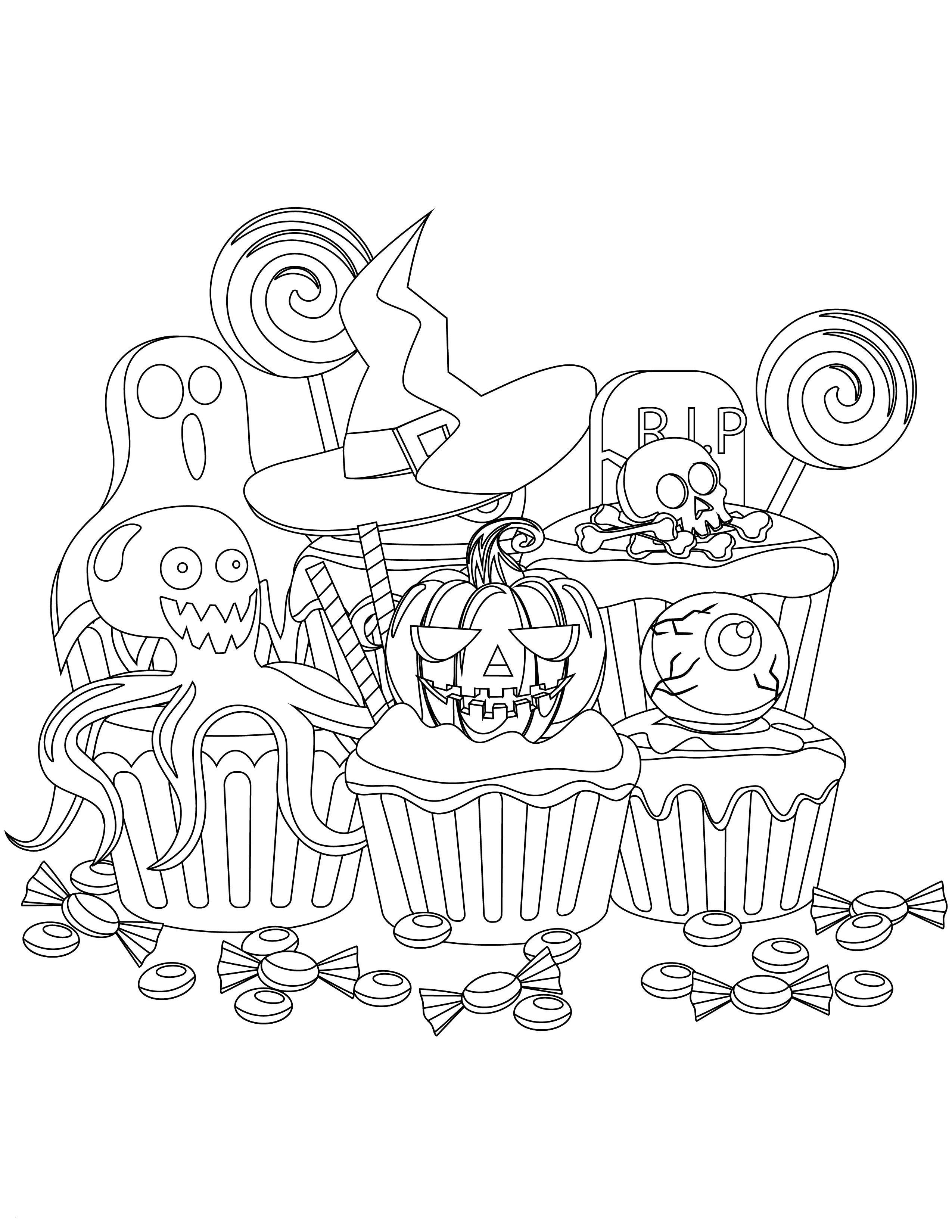 Cupcake Zum Ausmalen Neu 40 Vampir Malvorlagen Scoredatscore Frisch Ausmalbilder Cupcakes Stock