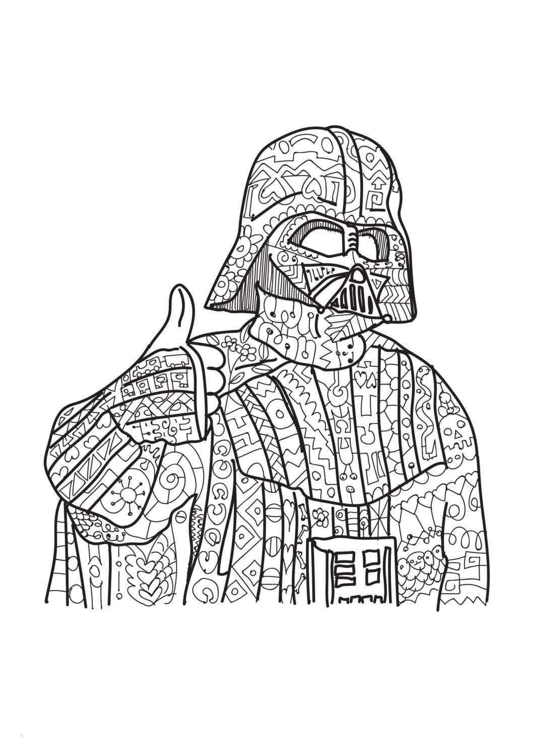 Darth Vader Ausmalbilder Das Beste Von Darth Vader Coloring Pages Beautiful Malvorlagen Star Wars Kostenlos Bild