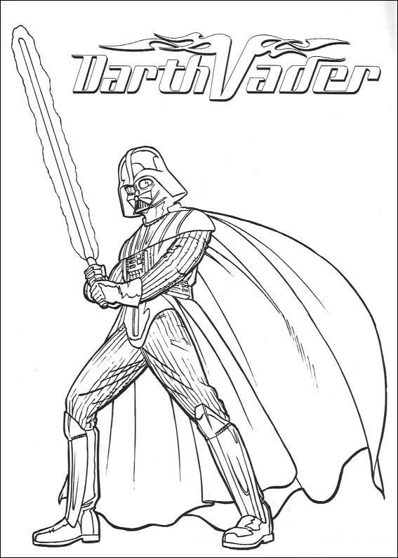 Darth Vader Ausmalbilder Das Beste Von Kids N Fun Bild