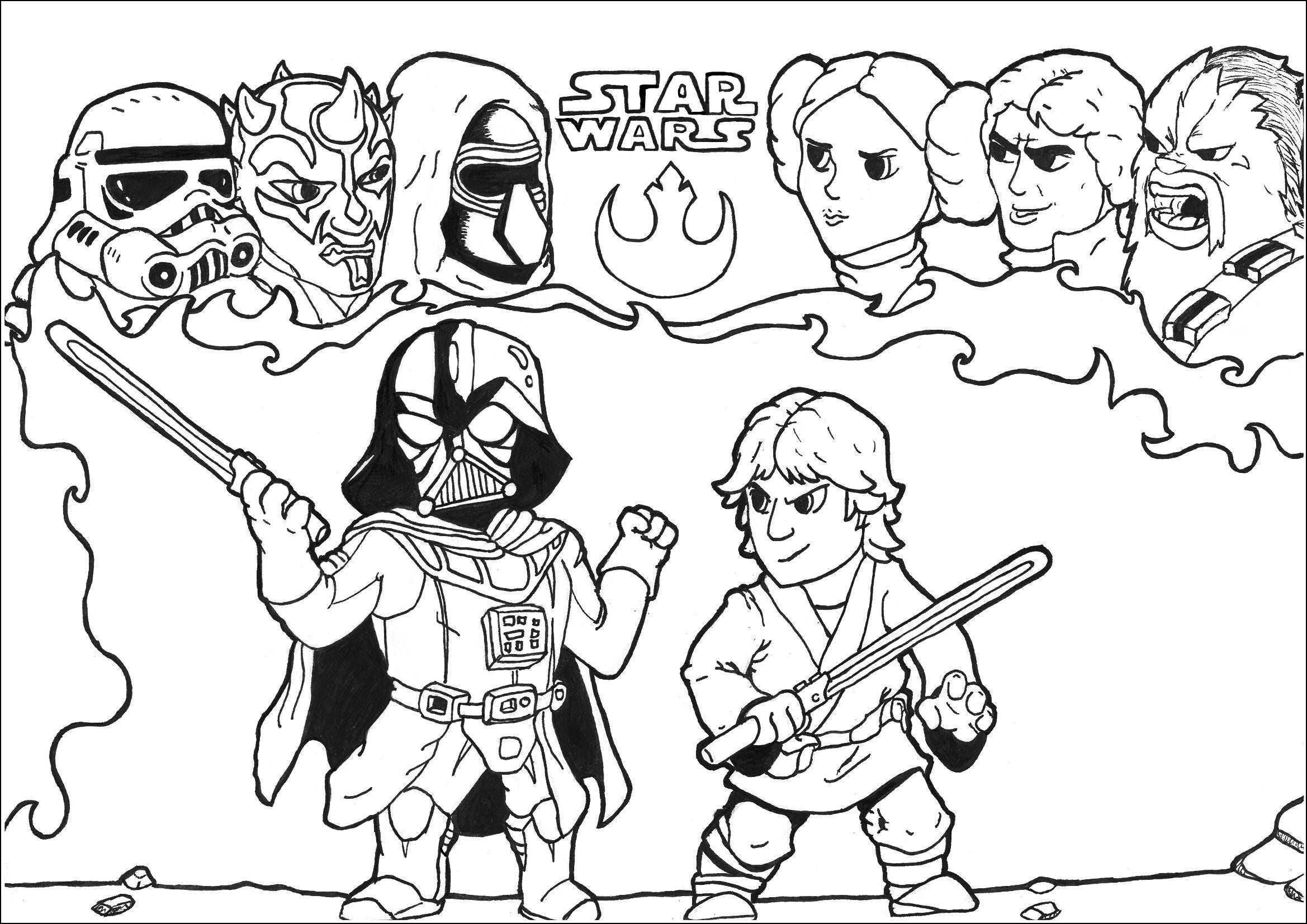 Darth Vader Ausmalbilder Genial Darth Vader Coloring Pages Inspirational 37 Malvorlagen Star Wars Stock