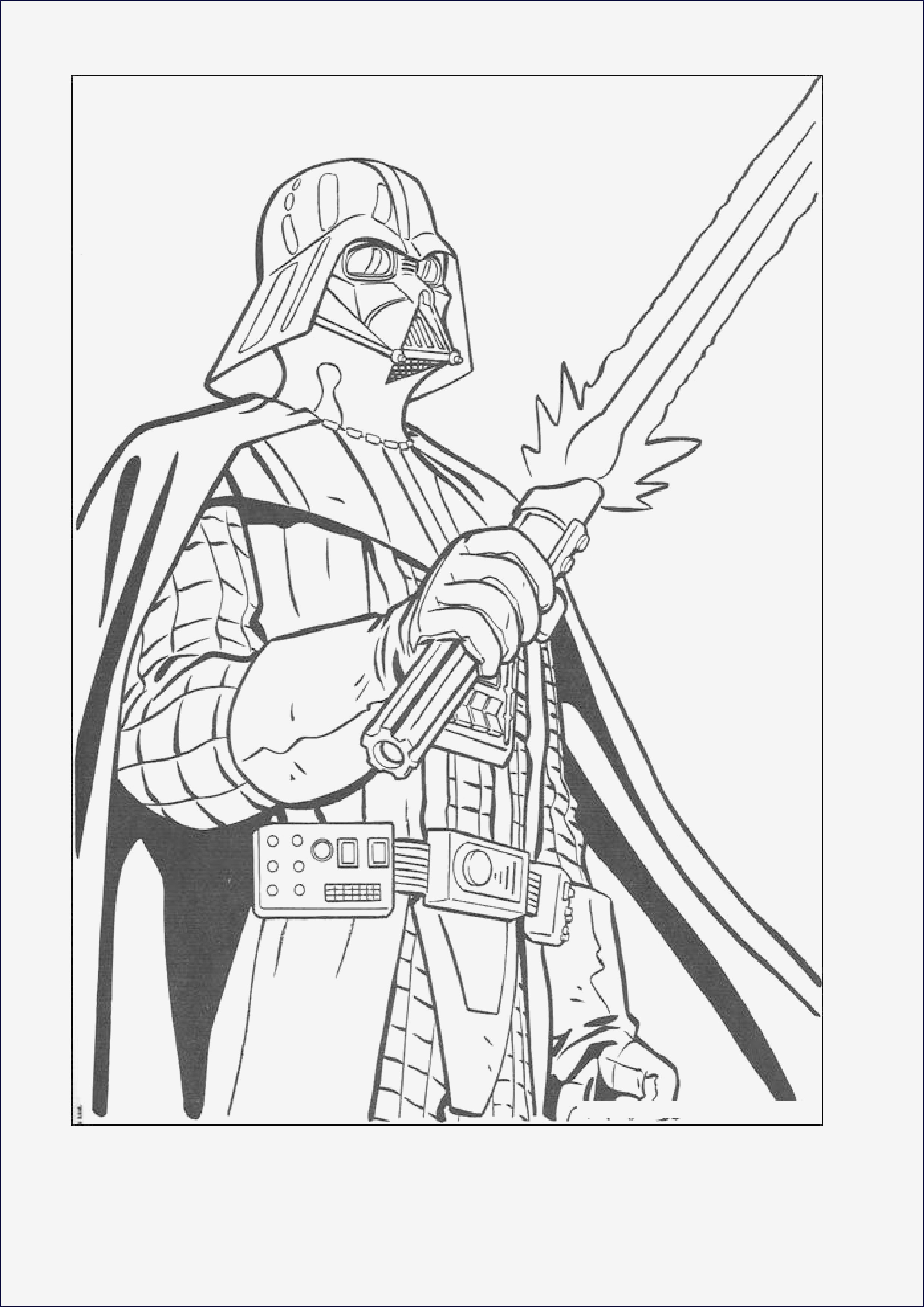 Darth Vader Ausmalbilder Genial Malvorlagen Star Wars Kostenlos Bildergalerie & Bilder Zum Ausmalen Sammlung