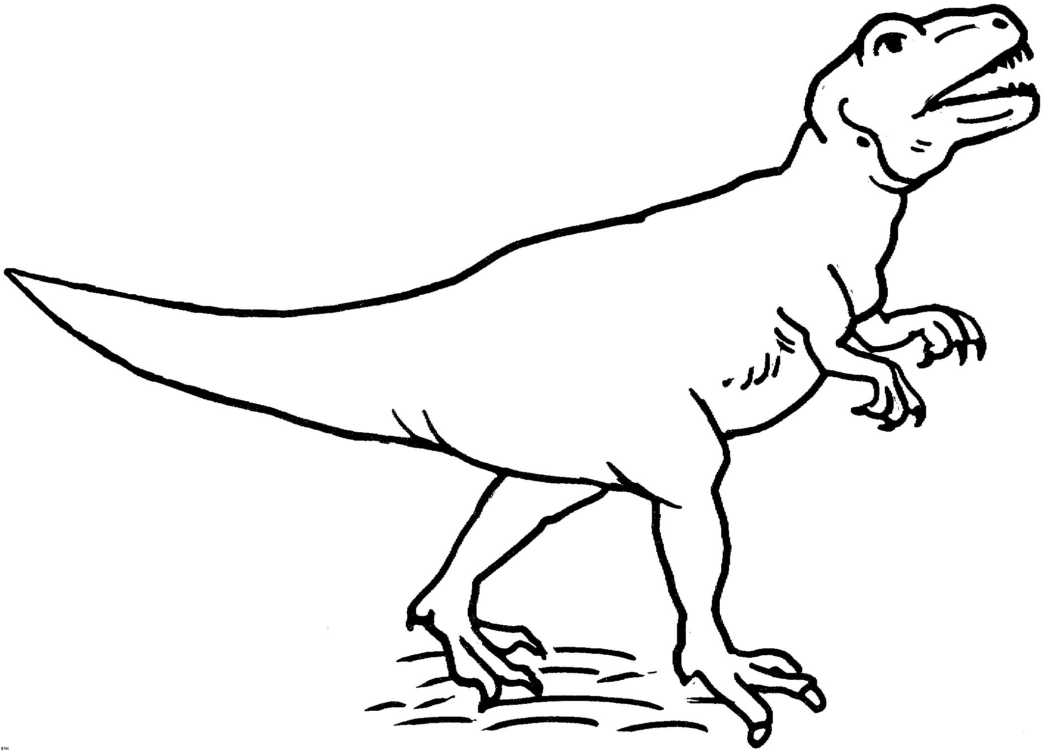 dinosaurier ausmalbilder tyrannosaurus rex inspirierend