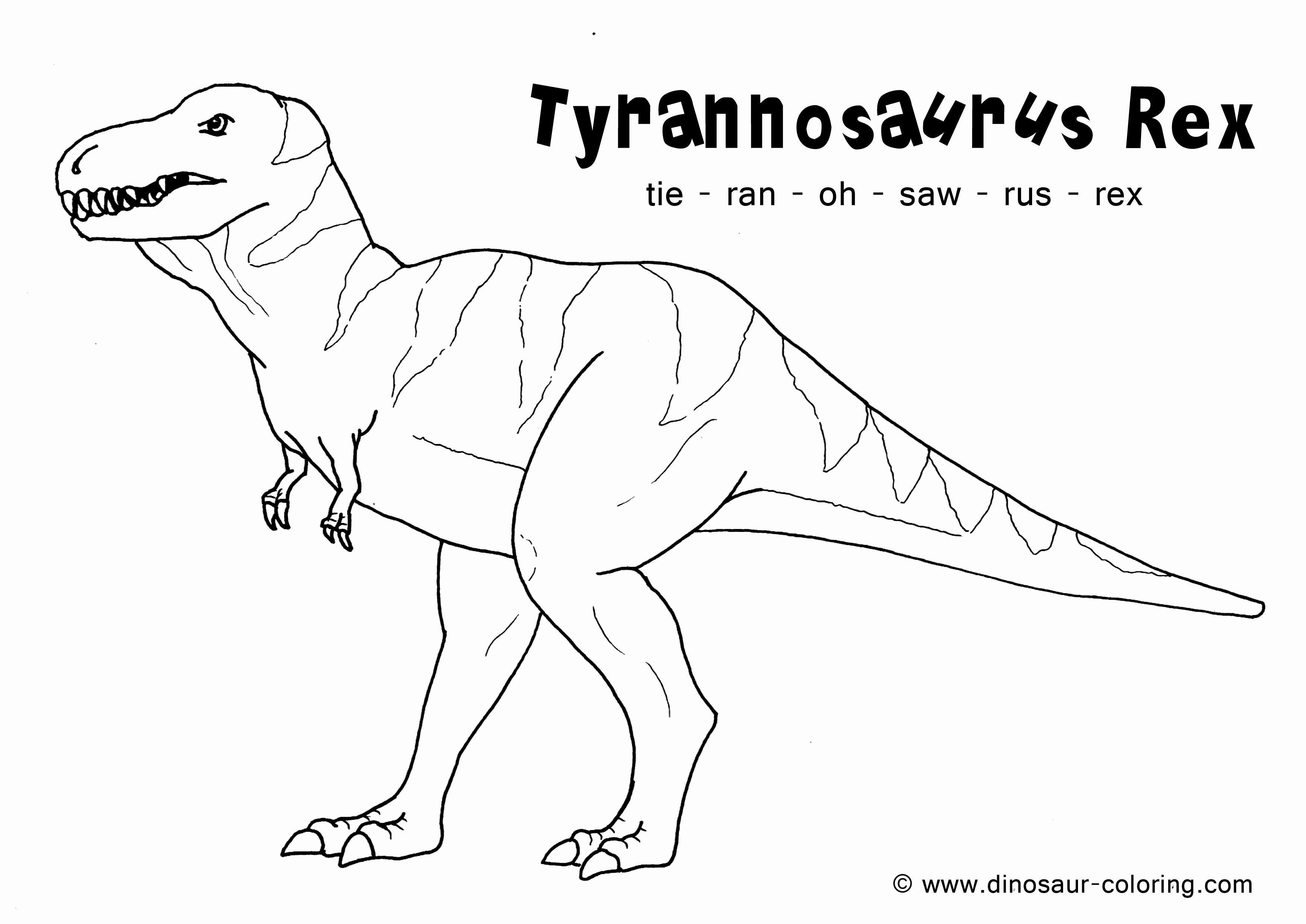 Dinosaurier Ausmalbilder Tyrannosaurus Rex Frisch Malvorlagen Dinosaurier Best 35 Ausmalbilder Dino Zug Stock
