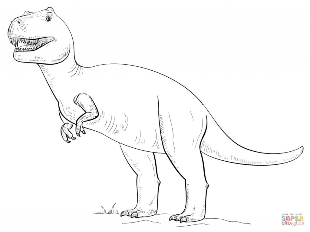 Dinosaurier Ausmalbilder Tyrannosaurus Rex Inspirierend Janbleil