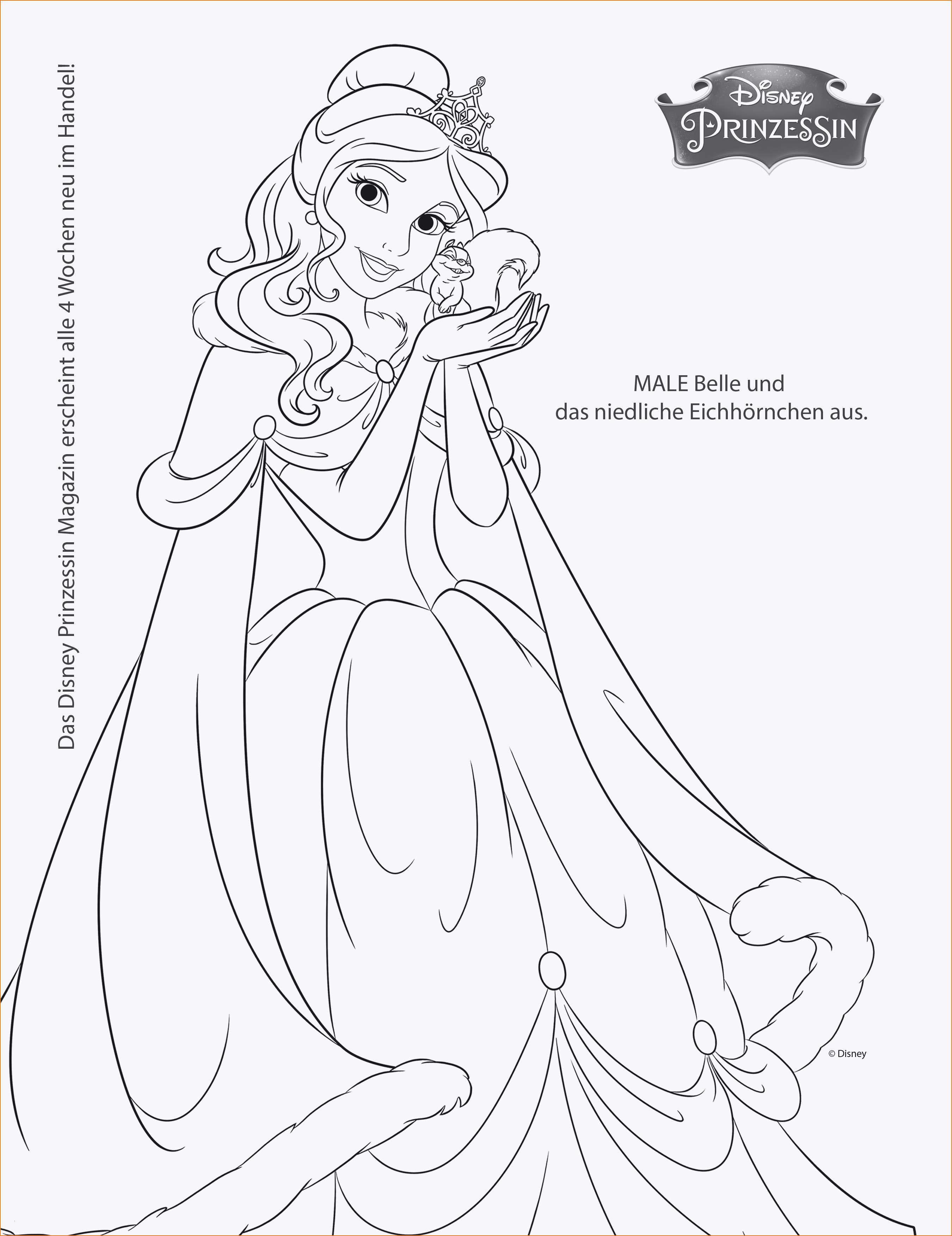 Disney Bilder Zum Ausmalen Einzigartig 35 Ausmalbilder Disney Prinzessinnen forstergallery Bilder