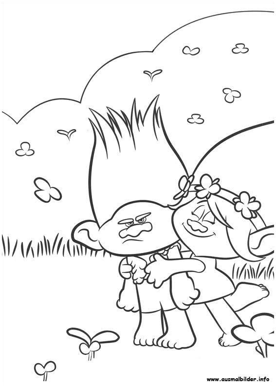 Disney Bilder Zum Ausmalen Neu Disney Ausmalbilder Ausmalbilder Trolls Branch Poppy 8 Malvorlage Stock