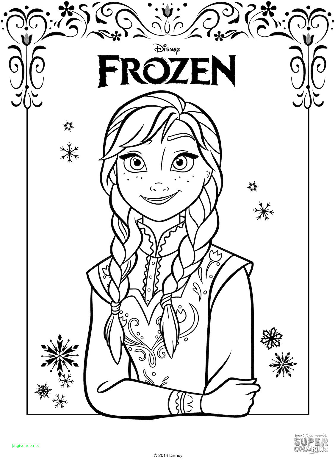 Disney Princess Ausmalbilder Frisch Best Coloring Disney Princess Elsa and Anna Neu Ausmalbilder Anna Fotos