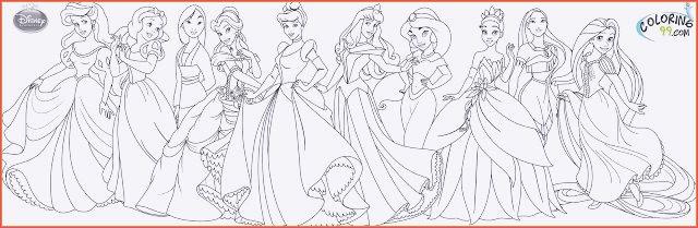 Disney Prinzessin Ausmalbild Genial Malvorlagen Gratis Prinzessin Disney Bilder