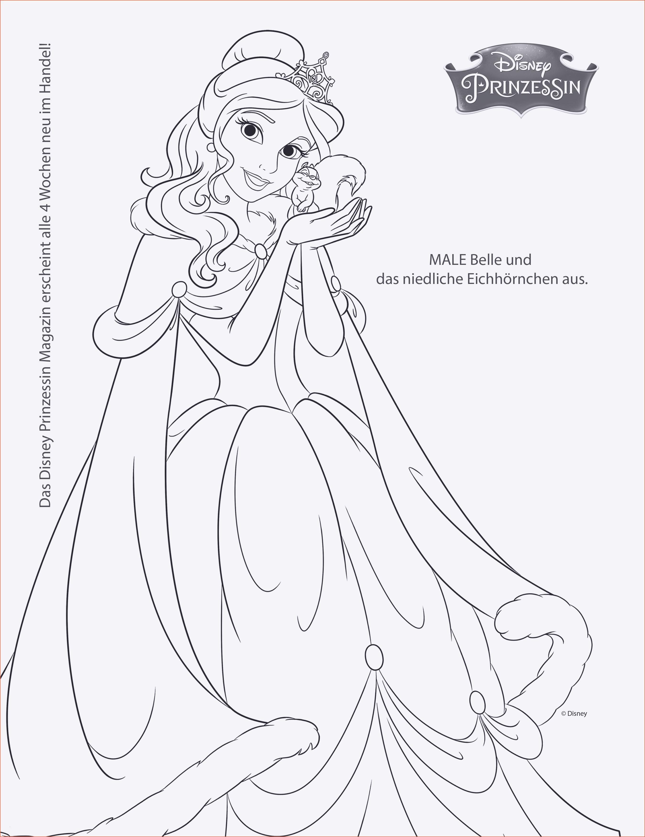 Disney Prinzessin Ausmalbild Neu Prinzessin Ausmalbilder Zum Ausdrucken New Malvorlagen Igel Best Bild
