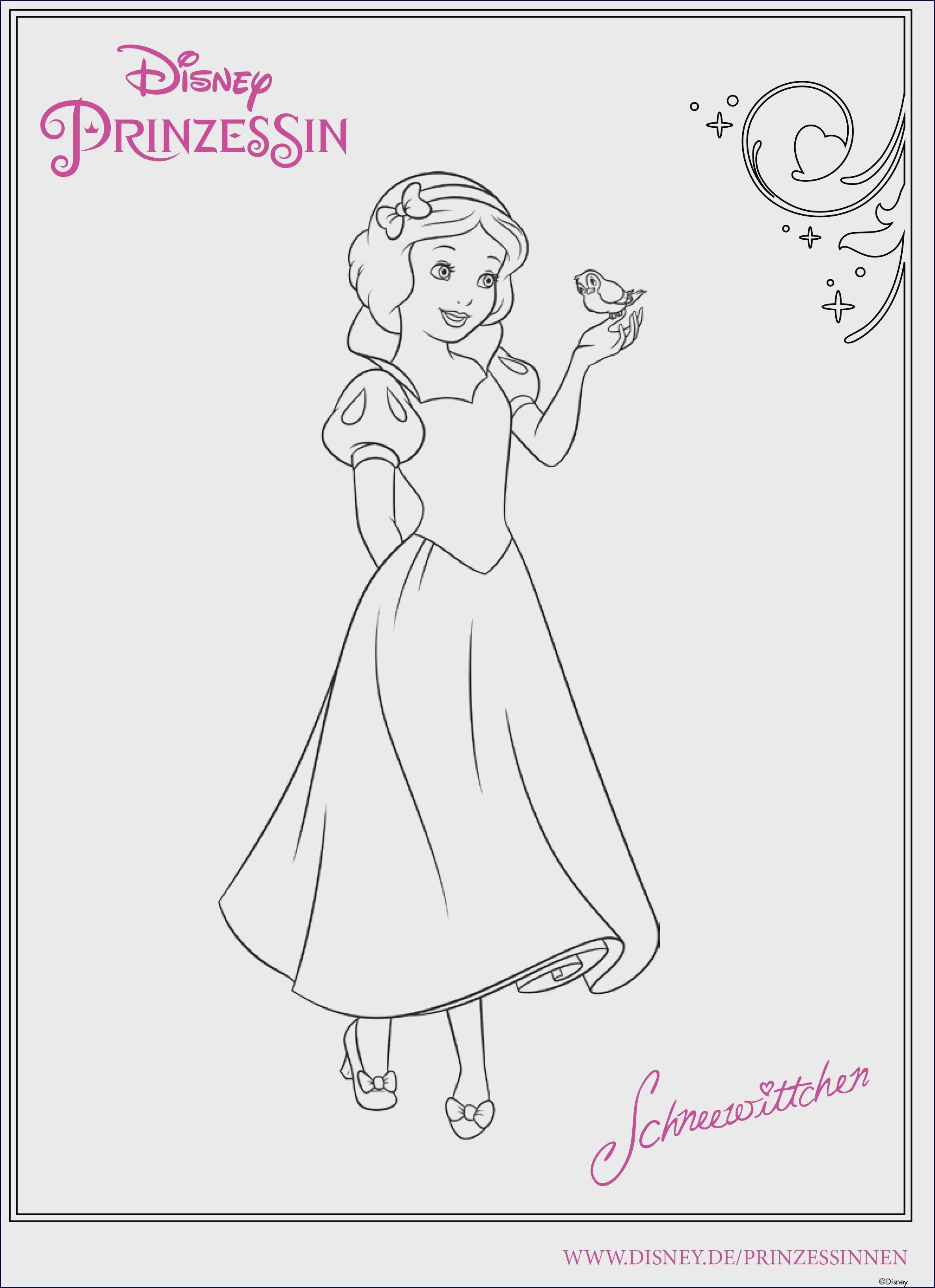 Disney Prinzessinnen Malvorlagen Einzigartig Bildergalerie & Bilder Zum Ausmalen Malvorlage Prinzessin Mit Bild