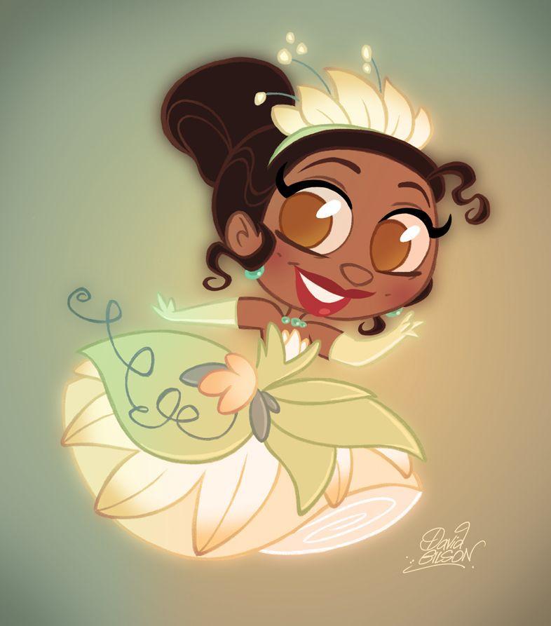 Disney Prinzessinnen Zeichnen Das Beste Von Chibi Tiana David Gilson Pinterest Fotografieren