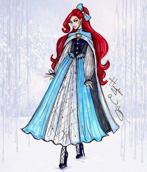 Disney Prinzessinnen Zeichnen Das Beste Von Imaginary World Fabulosos Conceptos De Moda Disney Divas Holiday Fotografieren