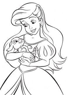 Disney Prinzessinnen Zeichnen Einzigartig 272 Besten Arielle Bilder Auf Pinterest Fotos