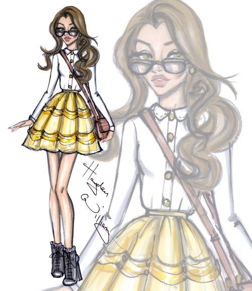 Disney Prinzessinnen Zeichnen Einzigartig Disney Diva Fashionistas by Hayden Williams Belle Bild