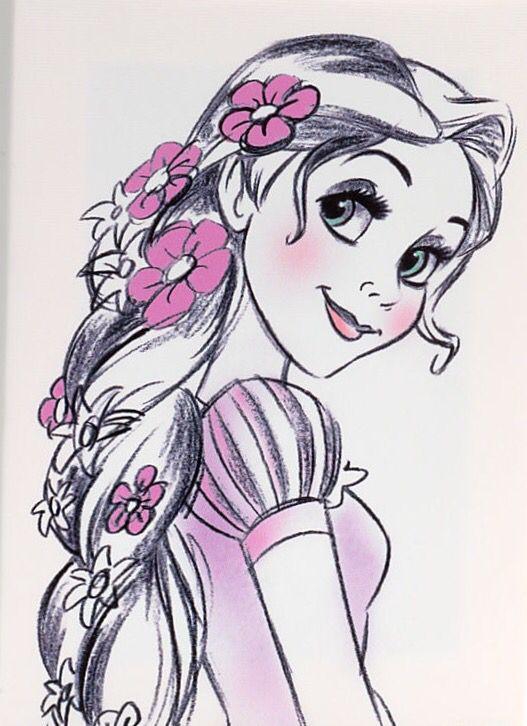Disney Prinzessinnen Zeichnen Genial Rapunzel Disney Store Uk Disney Concept Art Stock