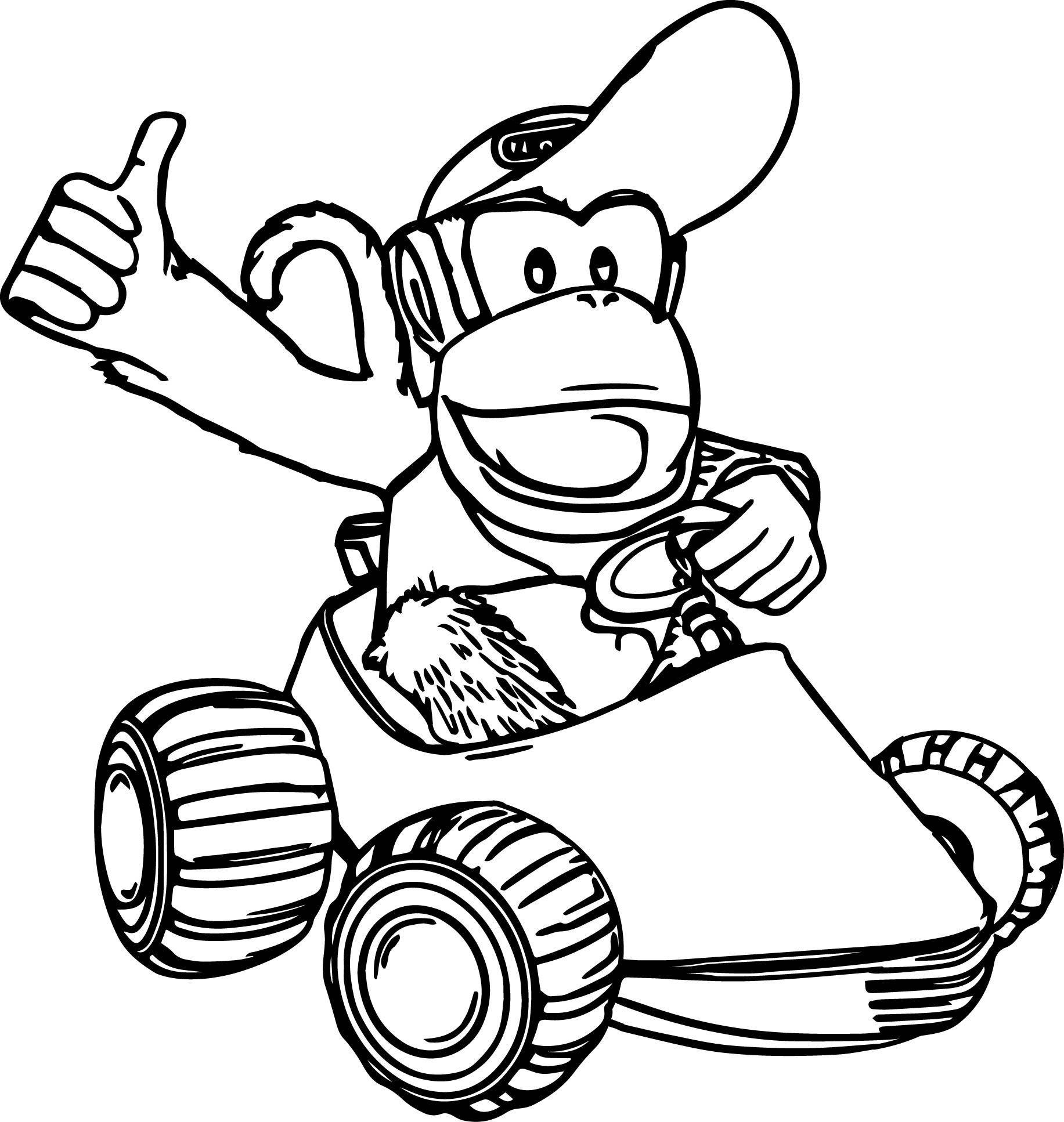 Donkey Kong Ausmalbilder Einzigartig Ausmalbild Baby Yoshi Best Donkey Kong Ausmalbilder Das Bild