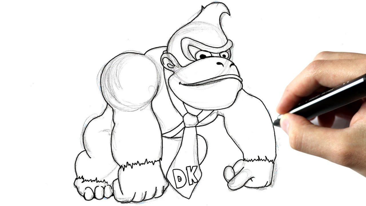 Donkey Kong Ausmalbilder Einzigartig Donkey Kong Drawing at Getdrawings Genial Donkey Kong Ausmalbilder Sammlung