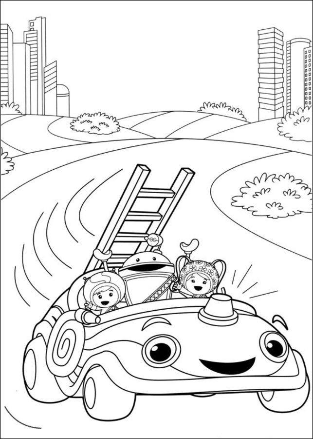 Drachen Steigen Malvorlage Inspirierend Malvorlagen Umizoomi Car Ausmalbilder Umizoomi Das Bild