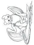 Drachenzähmen Leicht Gemacht Ausmalbilder Zum Drucken Einzigartig Raskraski Kak Priruchit Drakona Stock
