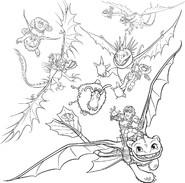 Dragons Auf Zu Neuen Ufern Ausmalbilder Neu Ausmalbilder Drachenzähmen Leicht Gemacht Wiki Sammlung