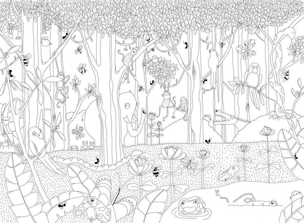 Dschungel Bilder Zum Ausdrucken Einzigartig Druckbare Malvorlage Ausmalbilder Affe Beste Druckbare Fotos