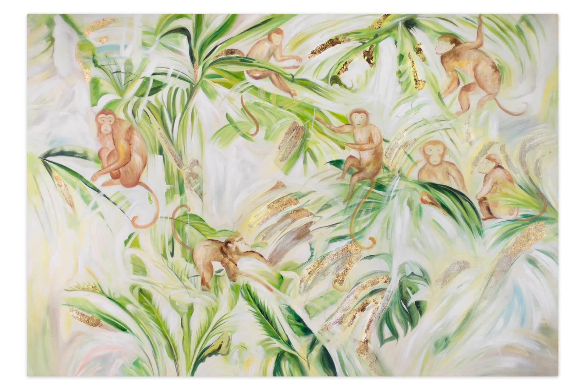 Dschungel Bilder Zum Ausdrucken Frisch Xxl Gemälde –l Affen Dschungel Palmen Kaufen Fotografieren