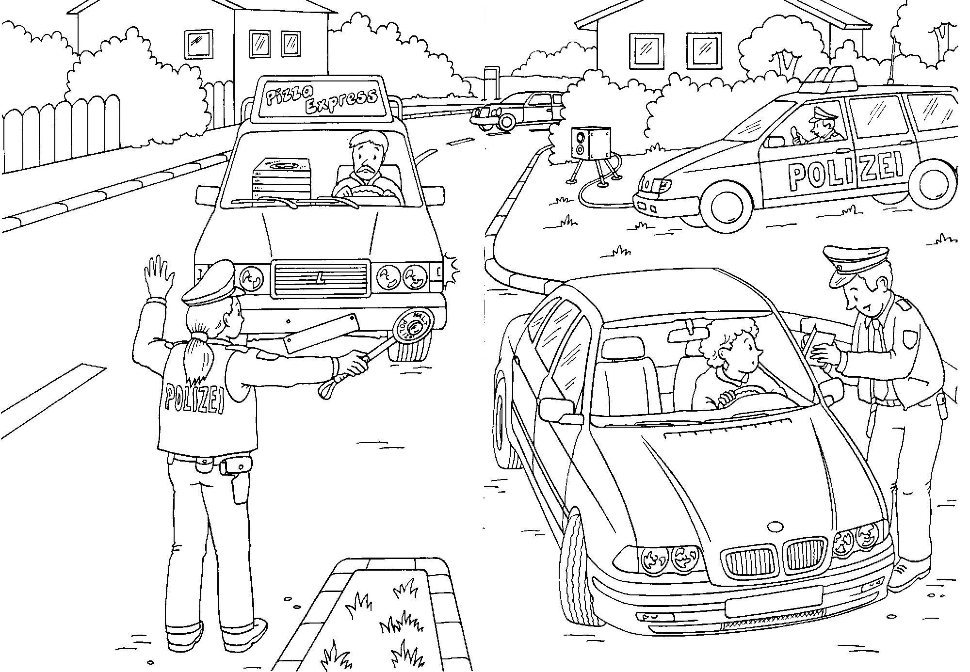 Dschungel Bilder Zum Ausdrucken Genial Drei Auto Polizei Ausmalbilder 75 Malvorlage Polizei Ausmalbilder Galerie