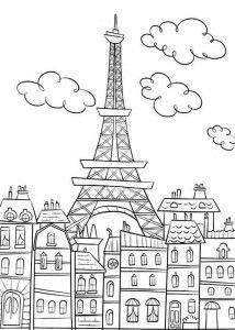 Eiffelturm Zum Ausmalen Das Beste Von Desenhos Para Colorir Da torre Eiffel Colour Mandalas Sammlung