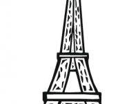 Eiffelturm Zum Ausmalen Einzigartig Frankreich Eiffelturm Malvorlagen Eiffelturm Malvorlage Avec Bilder