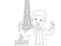 Eiffelturm Zum Ausmalen Einzigartig Gemütlich Eiffelturm Malvorlagen Galerie Avec Eiffelturm Vorlage Zum Das Bild