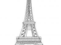 Eiffelturm Zum Ausmalen Frisch Frankreich Eiffelturm Malvorlagen Eiffelturm Malvorlage Avec Fotos