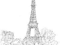 Eiffelturm Zum Ausmalen Genial Frankreich Eiffelturm Malvorlagen Eiffelturm Malvorlage Avec Bilder