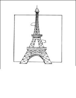 Eiffelturm Zum Ausmalen Genial Gratis Malvorlagen Von Eiffelturm Kostenlos Zum Drucken Avec Stock
