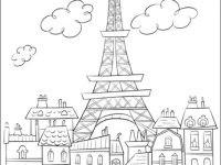 Eiffelturm Zum Ausmalen Inspirierend Frankreich Eiffelturm Malvorlagen Eiffelturm Malvorlage Avec Bild