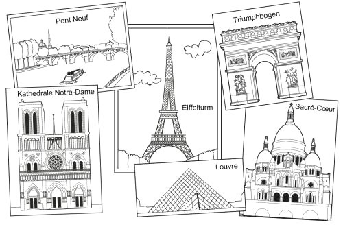 Eiffelturm Zum Ausmalen Inspirierend Kostenlose Malvorlage Urlaub Und Reisen In Avec Eiffelturm Zum Galerie