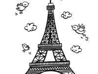 Eiffelturm Zum Ausmalen Neu Frankreich Eiffelturm Malvorlagen Eiffelturm Malvorlage Avec Fotografieren