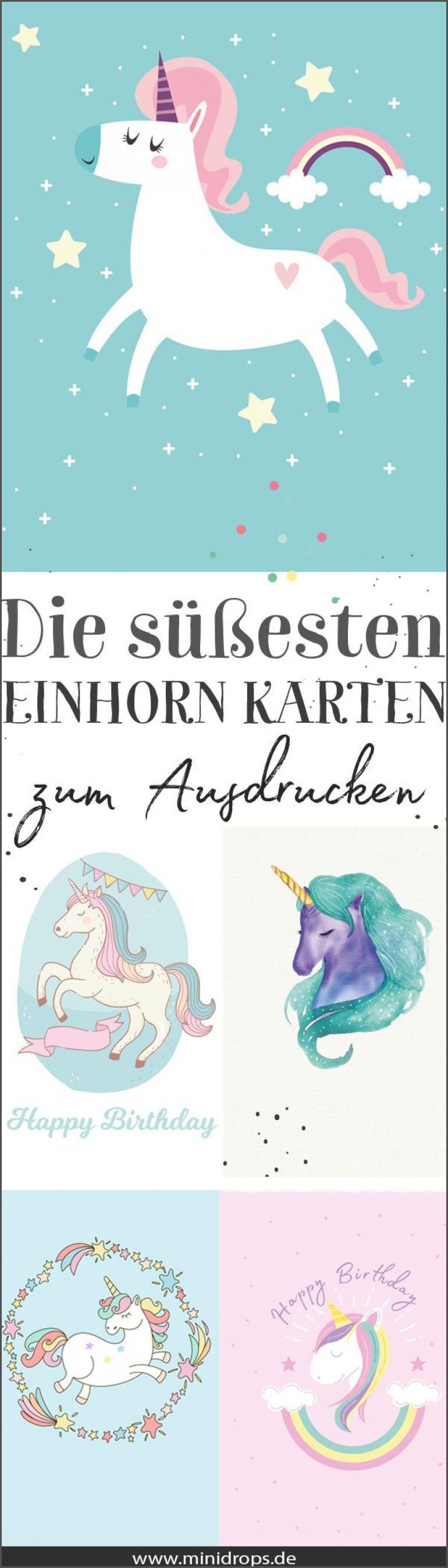 Einhorn Ausmalbilder Zum Ausdrucken Einzigartig Happy Birthday Karte Zum Ausdrucken Bilder Happy Birthday Karte Zum Bilder
