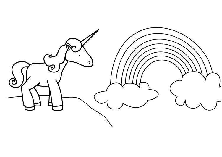 Einhorn Ausmalbilder Zum Ausdrucken Kostenlos Inspirierend Ausmalbilder Einhorn Mit Regenbogen Ideen Ausmalbild Märchen Sammlung
