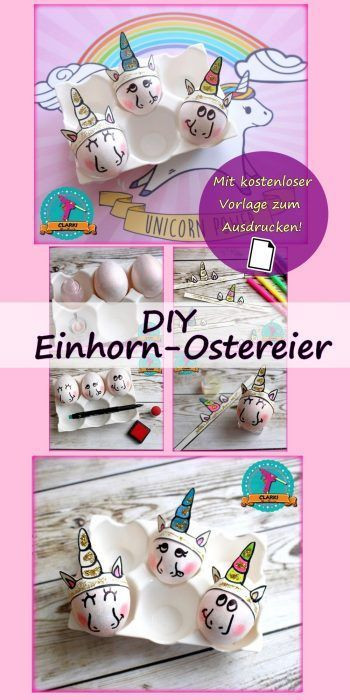 Einhorn Bilder Zum Ausdrucken Das Beste Von Einhorn Eier Zu Ostern Selber Machen Kostenlose Anleitung Und Bilder