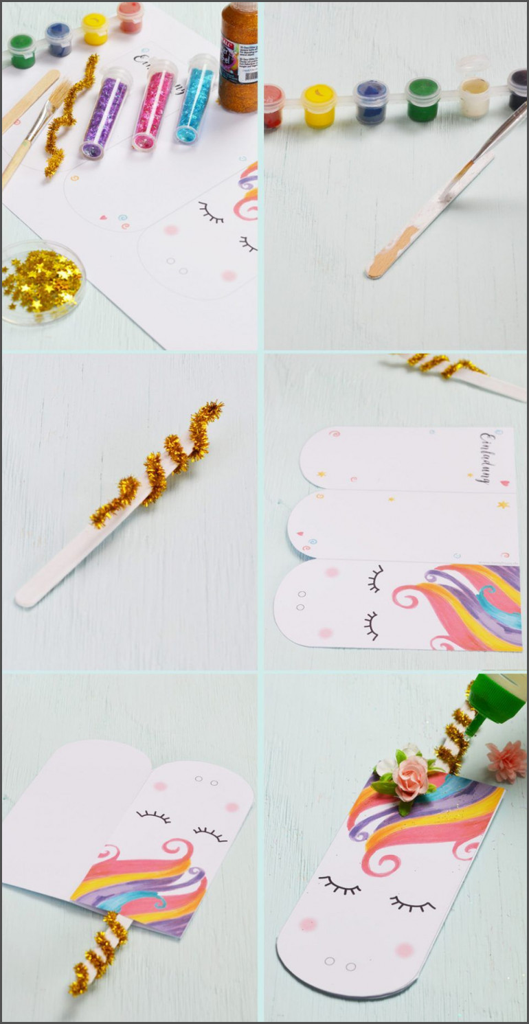 Einhorn Bilder Zum Ausdrucken Frisch Einladungen Einladung Einhorn Süße Einhorn Einladungskarte Zum Bilder