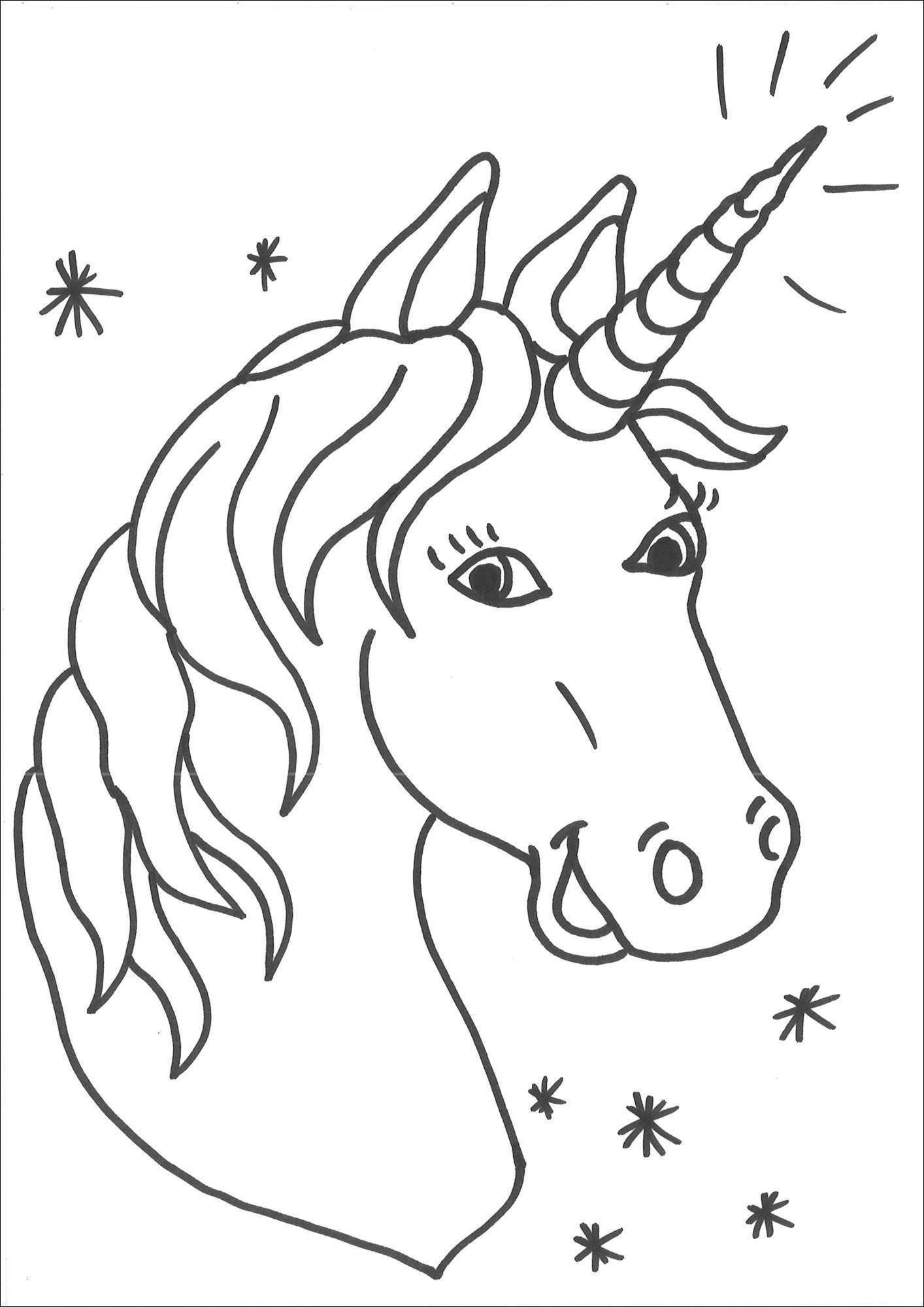 Einhorn Bilder Zum Ausmalen Neu Malvorlagen Erwachsene Pferd Vorstellung 35 Ausmalbilder Einhorn Mit Das Bild