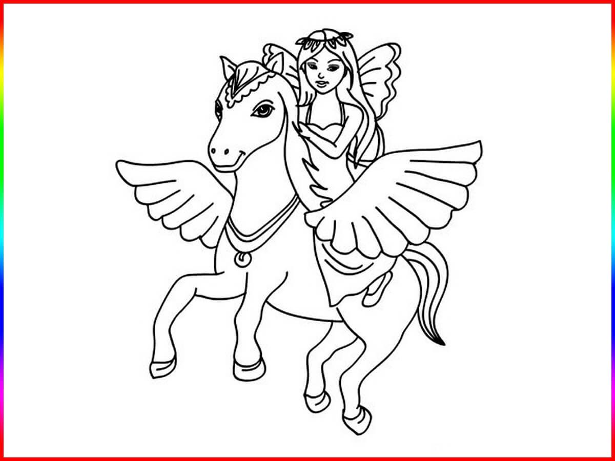 Einhorn Bilder Zum Drucken Inspirierend Ausmalbilder Einhorn Zum Ausdrucken Elegant Einhörner Mit Flügeln Bilder