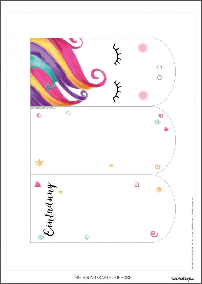 Einhorn Bilder Zum Drucken Neu Einladungen Einladungen Selber Drucken Einladungskarten Selber Galerie