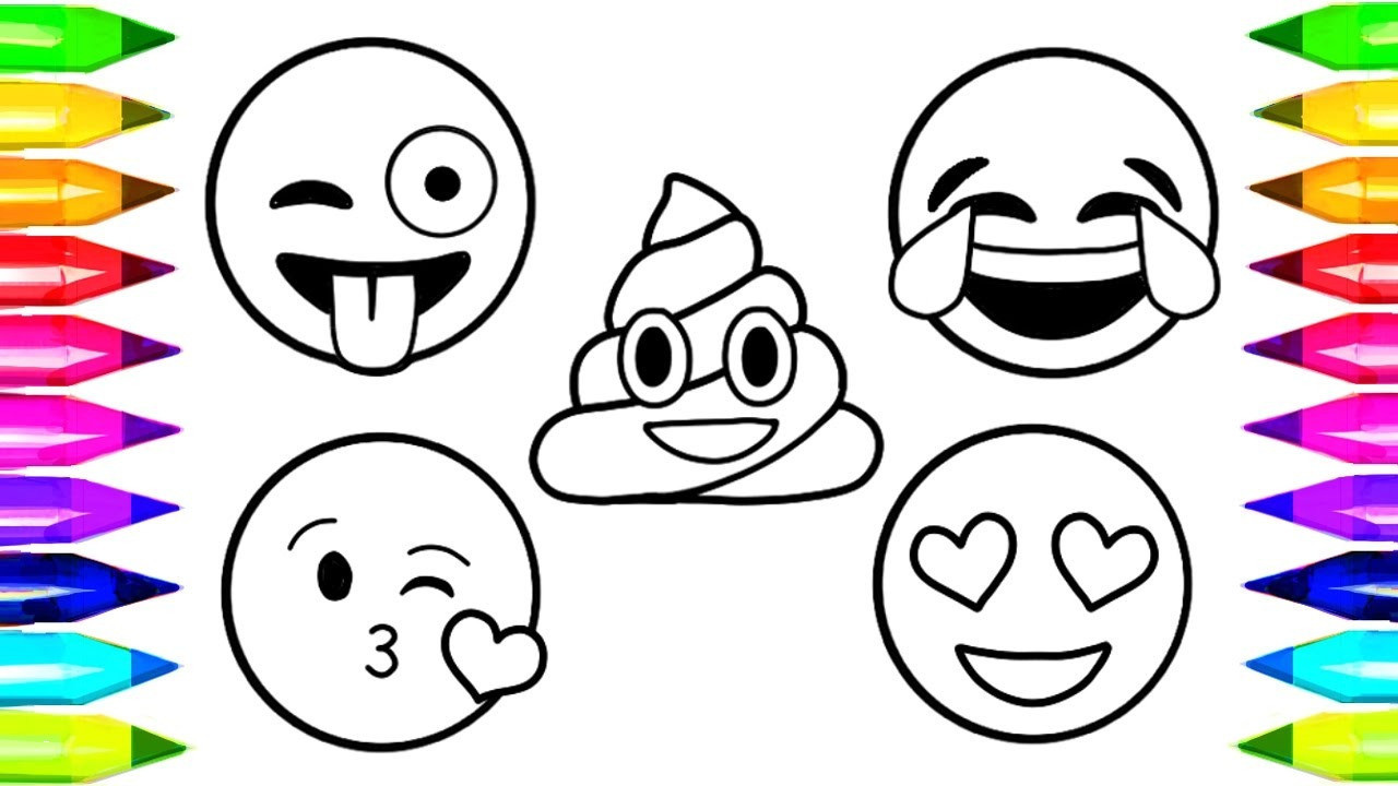 Einhorn Emoji Zum Ausmalen Frisch 35 Frisch Ausmalbilder Emojis Mickeycarrollmunchkin Fotos