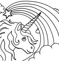 Einhorn Kopf Zum Ausmalen Inspirierend 53 Besten Einhorn Malvorlagen Bilder Auf Pinterest Fotos