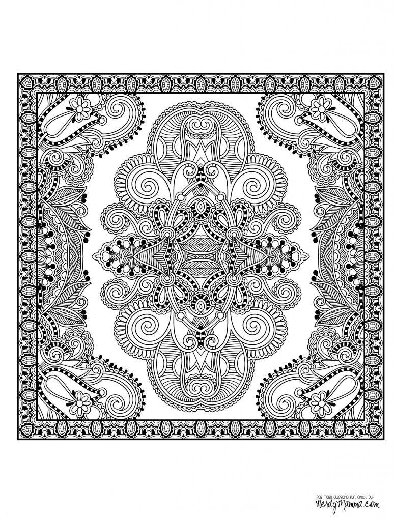 Einhorn Mandala Erwachsene Einzigartig Ausmalbilder Schmetterling Mandala Frisch Malvorlagen Für Erwachsene Stock