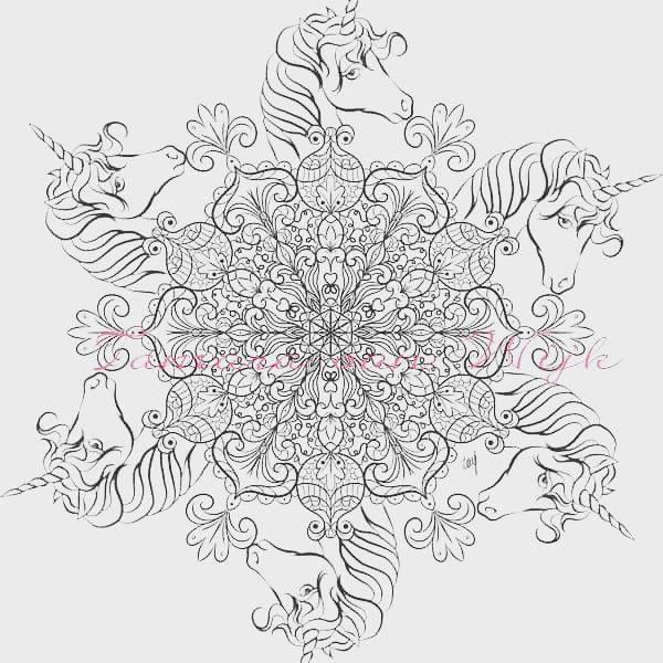 Einhorn Mandala Erwachsene Einzigartig Pin Von Tiffany Hall Auf Colouring Pages Pinterest Stock