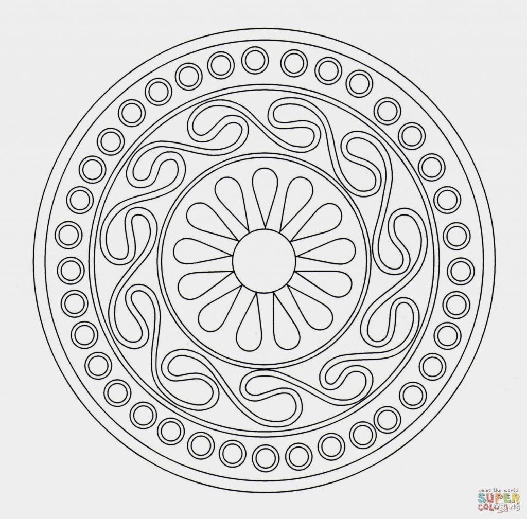 Einhorn Mandala Erwachsene Frisch Ausmalbilder Mandala Erwachsene Spannende Coloring Bilder Galerie