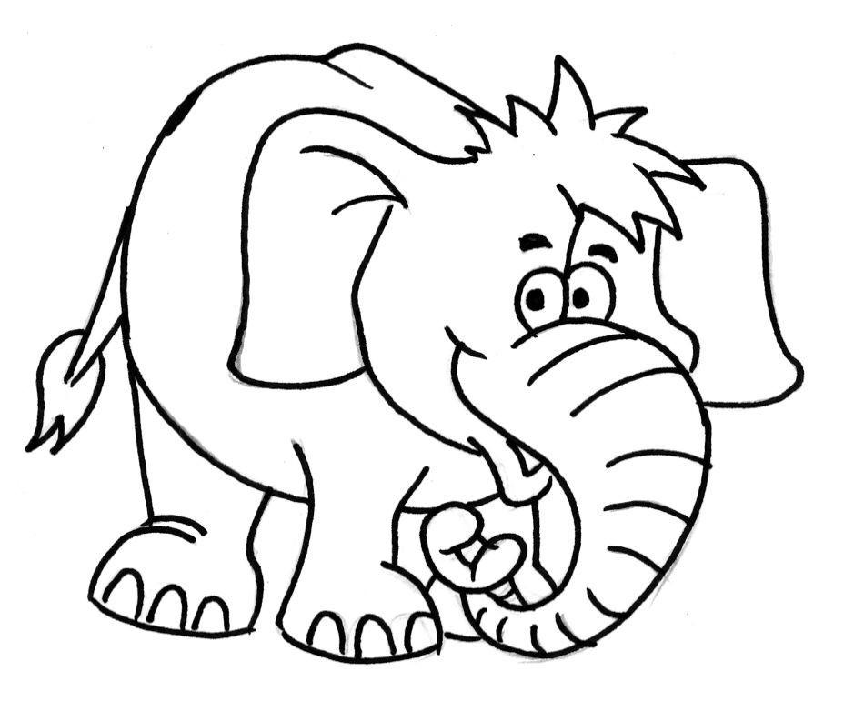 Elefant Zum Ausdrucken Das Beste Von Druckbar Ausmalbild Elefant Stock