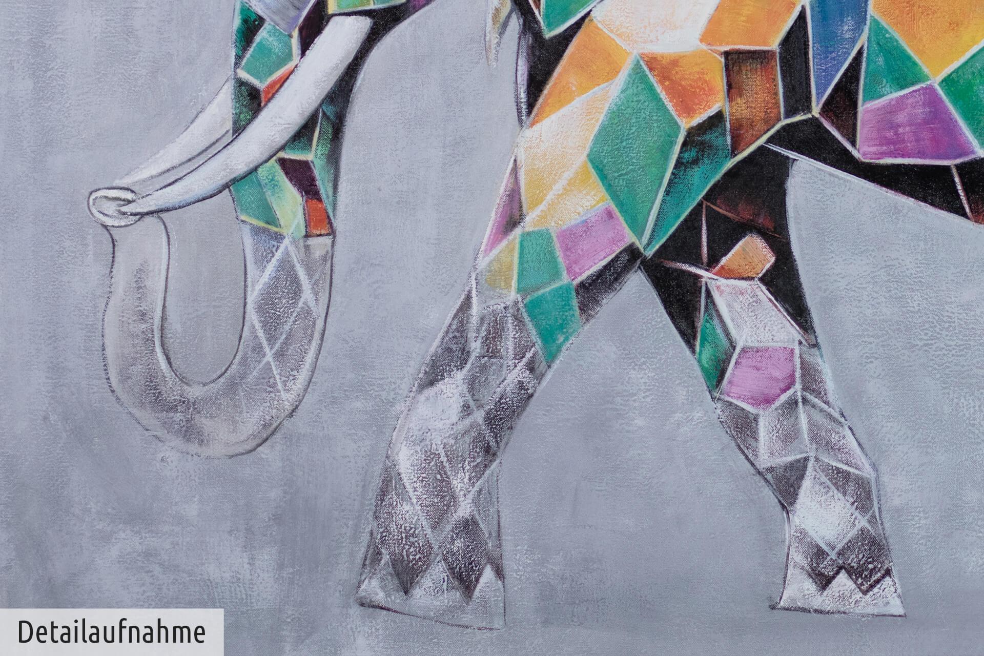 Elefant Zum Ausdrucken Genial Xxl Gemälde –l Elefant Bunt Kaufen Sammlung